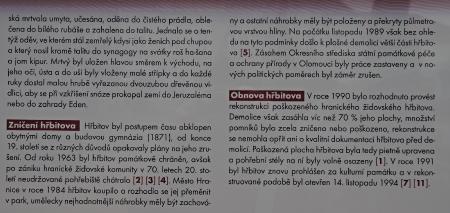 Židovský hřbitov Hranice_2
