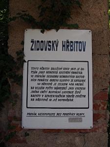 Židovský hřbitov Klatovy_1