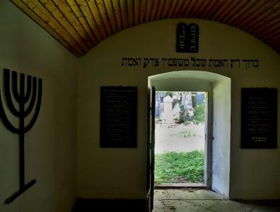 Židovský hřbitov Čkyně