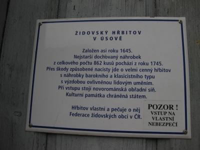 Židovský hřbitov Úsov_3