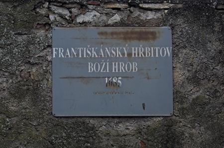 Boží hrob na Františkánském hřbitově Votice_3