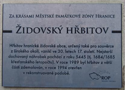 Židovský hřbitov Hranice_7