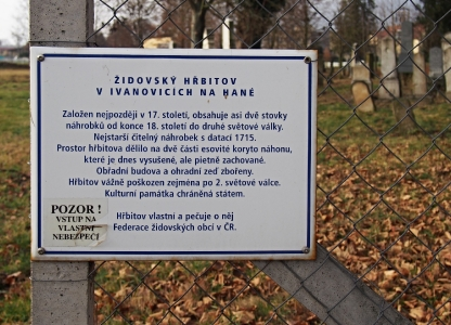 Židovský hřbitov Ivanovice na Hané_1