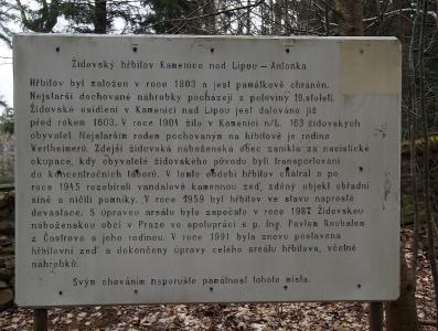 Židovský hřbitov Kamenice nad Lipou_3