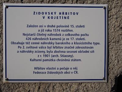 Židovský hřbitov Kojetín_1