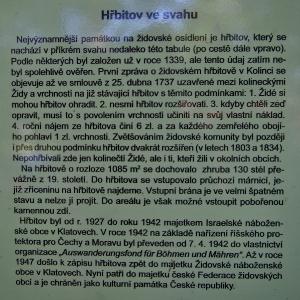 Židovský hřbitov Kolínec_1