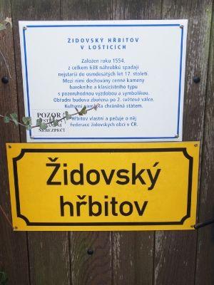 Židovský hřbitov Loštice_1
