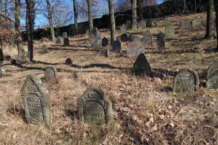 Židovský hřbitov v Kosově Hoře_23