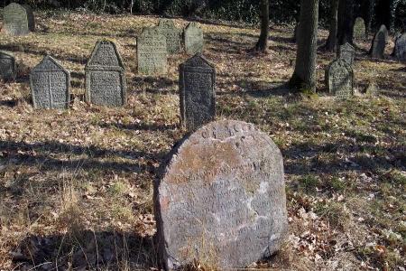 Židovský hřbitov v Kosově Hoře_25