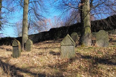 Židovský hřbitov v Kosově Hoře_27
