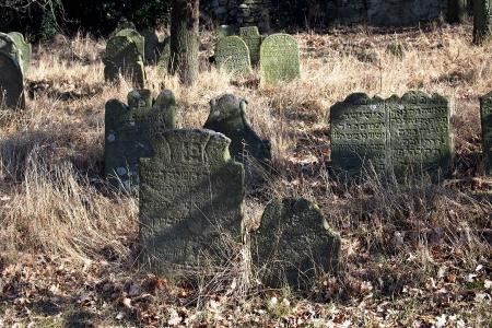 Židovský hřbitov v Kosově Hoře_33