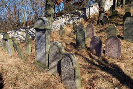 Židovský hřbitov v Kosově Hoře_41