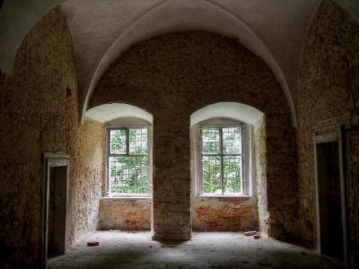 Interiéry zámku Nekmíř